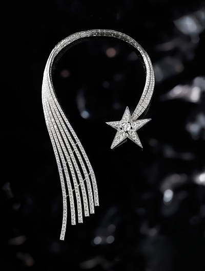 Бриллиантовое колье Chanel