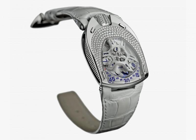Белая версия часов UR-106 Lotus