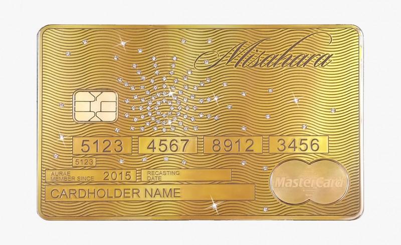 Solid Gold MasterCard Starburst от Aurea