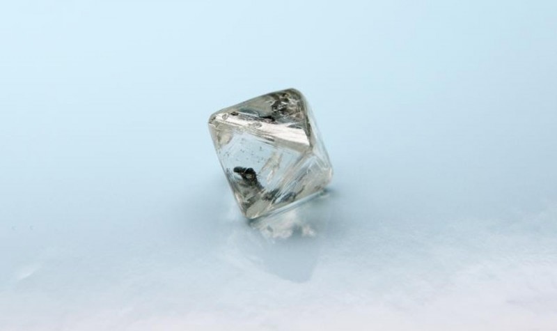 103-каратный алмаз, найденный АЛРОСА