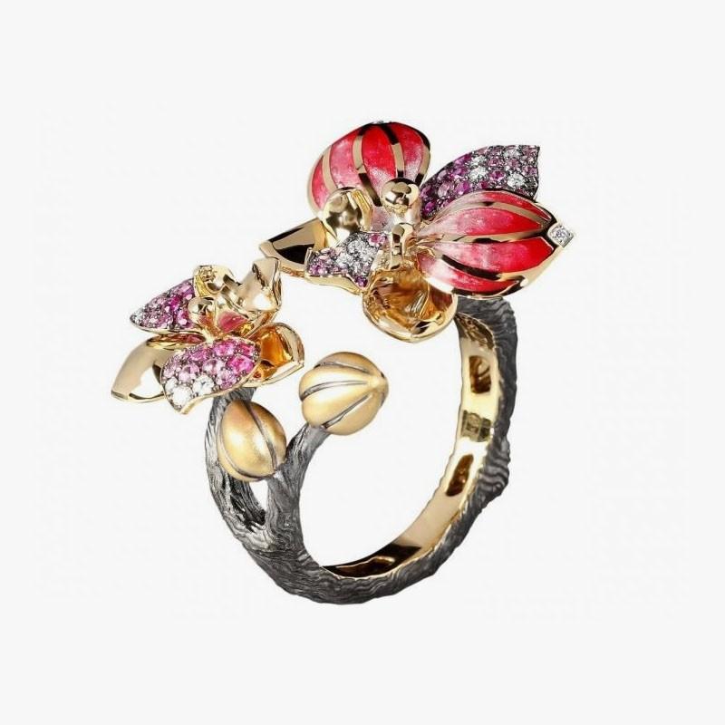 Кольцо от Mousson Atelier из коллекции Botanic