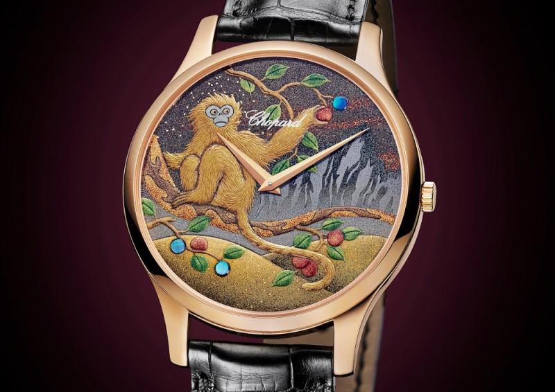 Часы Chopard L.U.C XP Urushi, вдохновленные годом Обезьяны по китайскому календарю