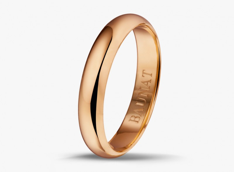Кольцо из красного золота от Baunat