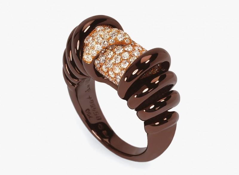 Кольцо из коричневого золота от de Grisogono