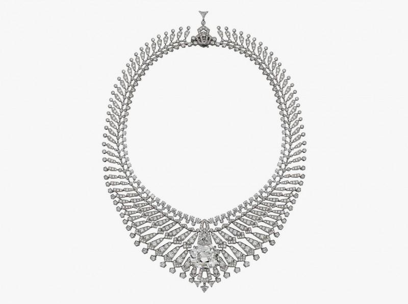 Колье Étourdissant с центральным бриллиантом 34,96 карата