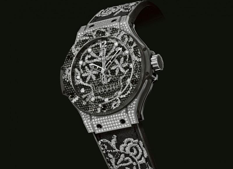 Часы Big Bang Broderie от Hublot