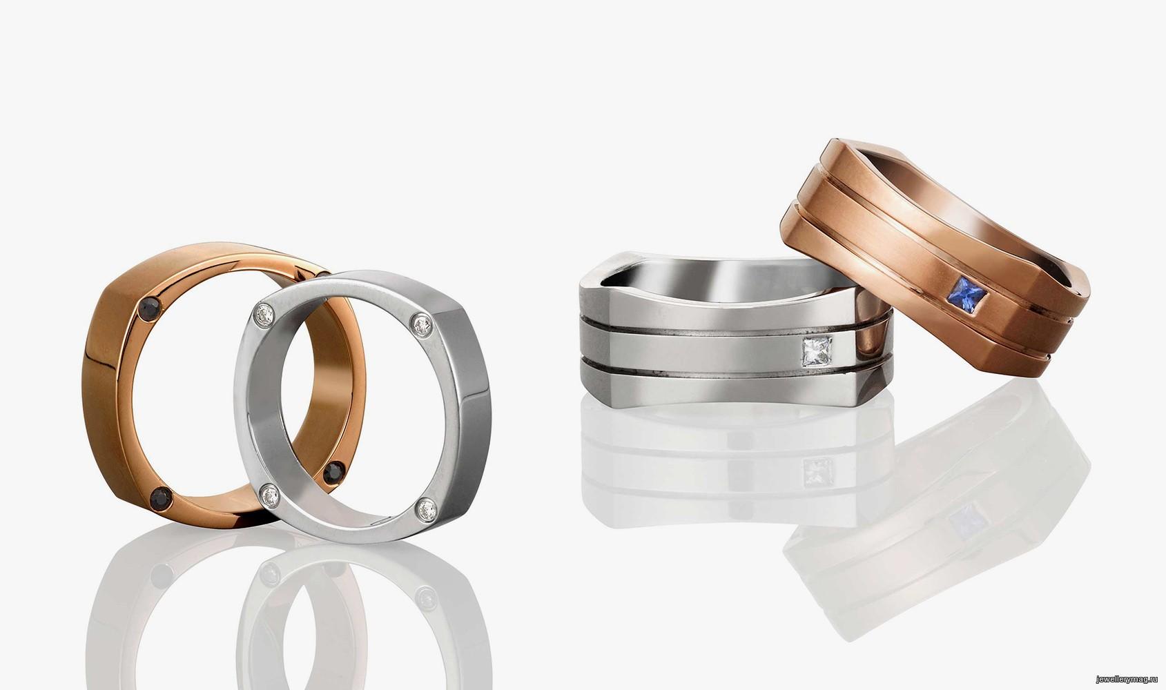 эксклюзивные кольца из золота 2016