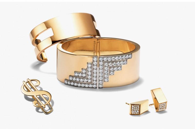 Браслеты, серьги и зажим для денег из коллекции Tiffany & Co. Out of Retirement
