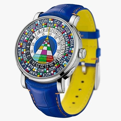 Часы с мировым временем Louis Vuitton Escale Worldtime Only Watch. Ориентировочная цена 57 900–67 500 евро