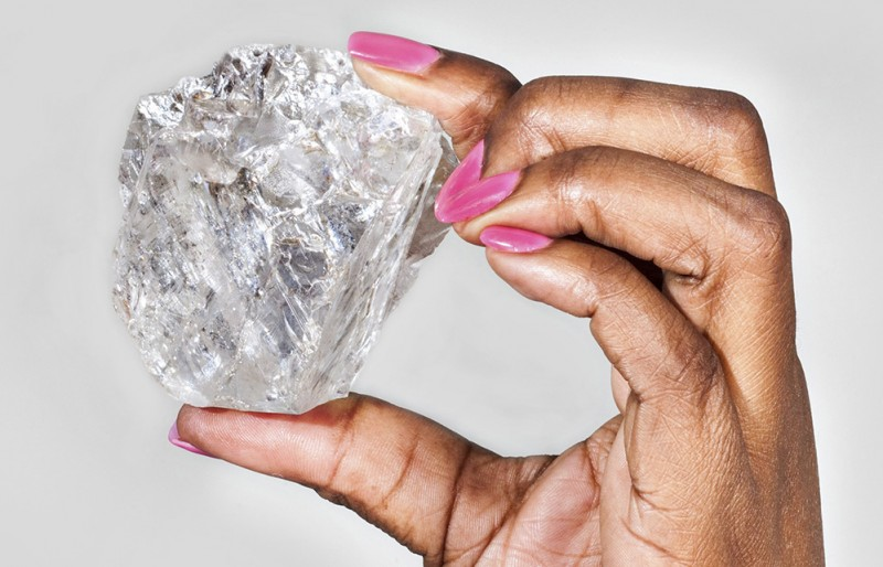 Компания Lucara пока не может назвать потенциальную цену найденного камня