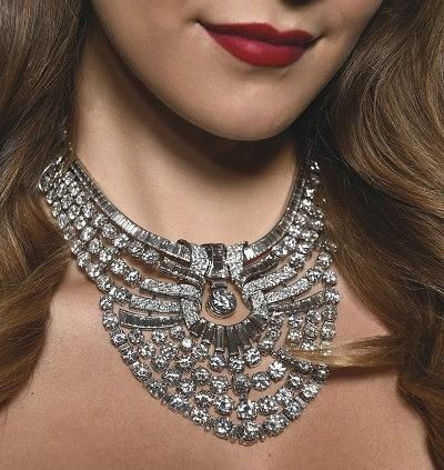 Бриллиантовое колье египетской королевы Назли