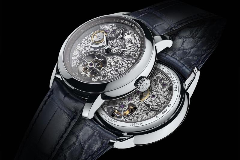 Часы Vacheron Constantin в корпусе из платины