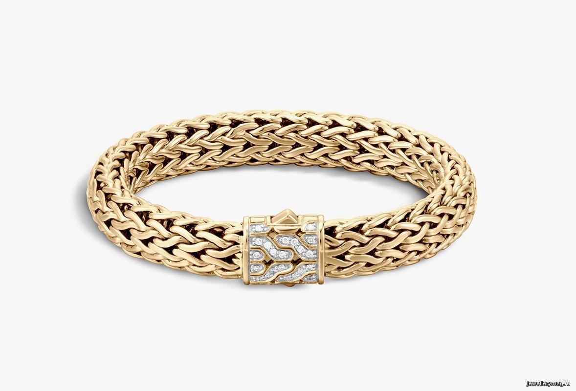модели золотых браслетов женских