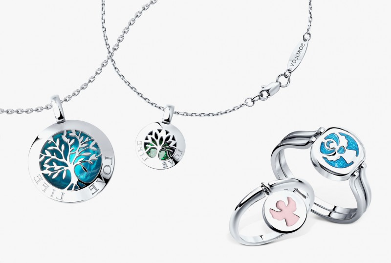 Подвески и кольца из коллекции «Счастье» от Sokolov