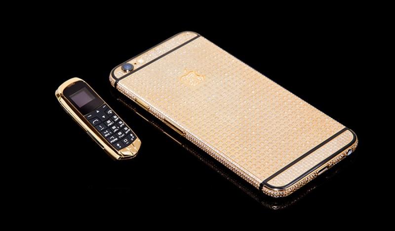 Самый маленький телефон сделали в компании Goldgenie