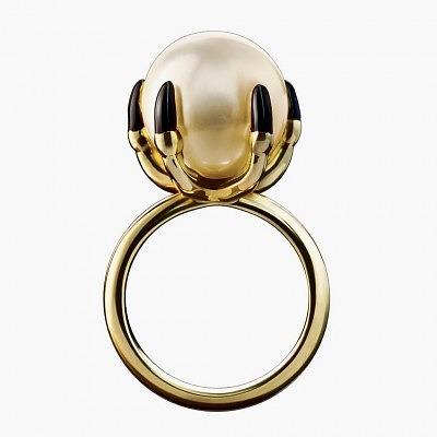 Кольцо с жемчугом от Solange Azagury-Partridge