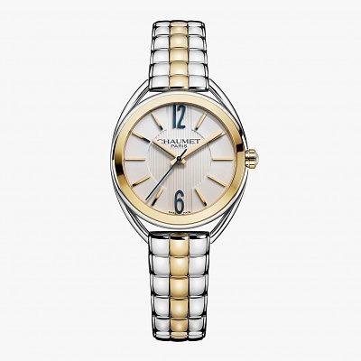 Часы из белого золота и стали в корпусе 27 мм из коллекции Liens de Chaumet