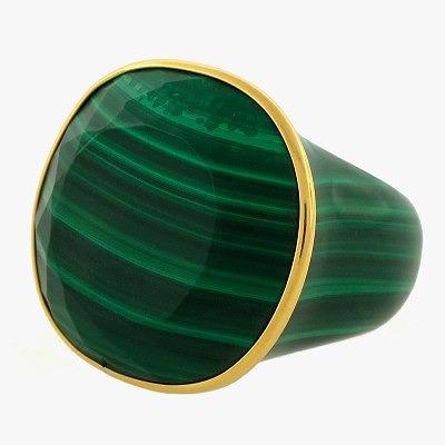 Кольцо из малахита. Фото : prudencemd.com