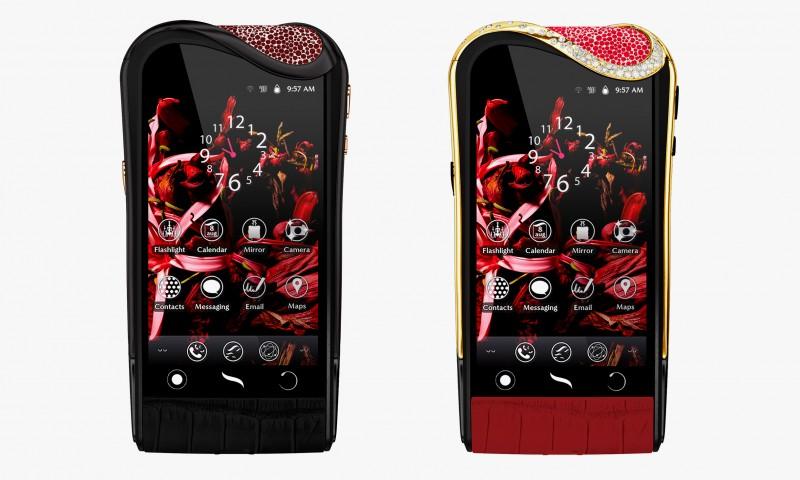 Смартфоны Savelli с рубинами Gemfields: Ruby Mystery и Ruby Passion