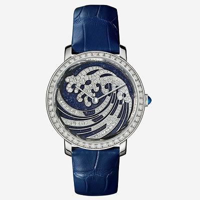 Часы Épure Vague de Lumière от Boucheron. Ориентировочная цена 24 100–28 900 евро