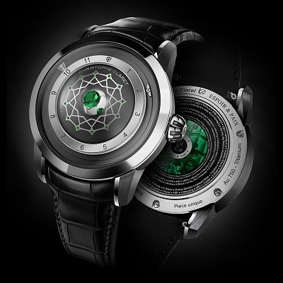 Часы Espoir & Paix от Christophe Claret. Ориентировочная цена 48 200–57 900 евро