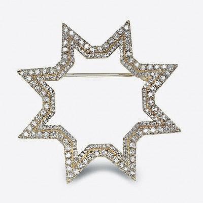 Брошь-звезда от Octium