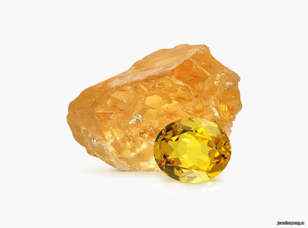 Где добывают камень цитрин