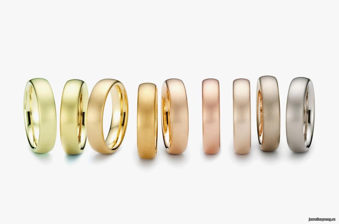 Цветное золото: 10 оттенков драгоценного металла