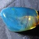 Голубой янтарь — самый редкий янтарь в мире