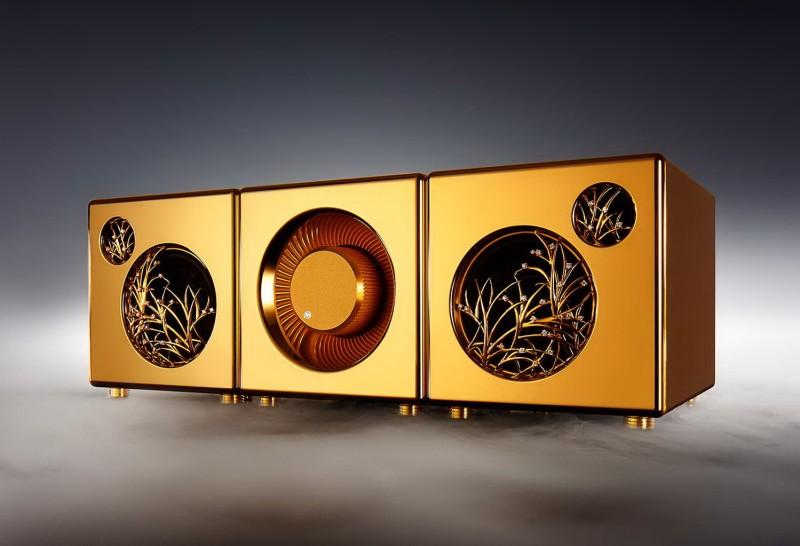 Золотая аудиосистема с River's Tone