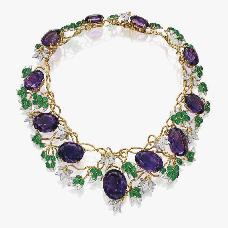 Колье Vigne из платины от Tiffany & Co.