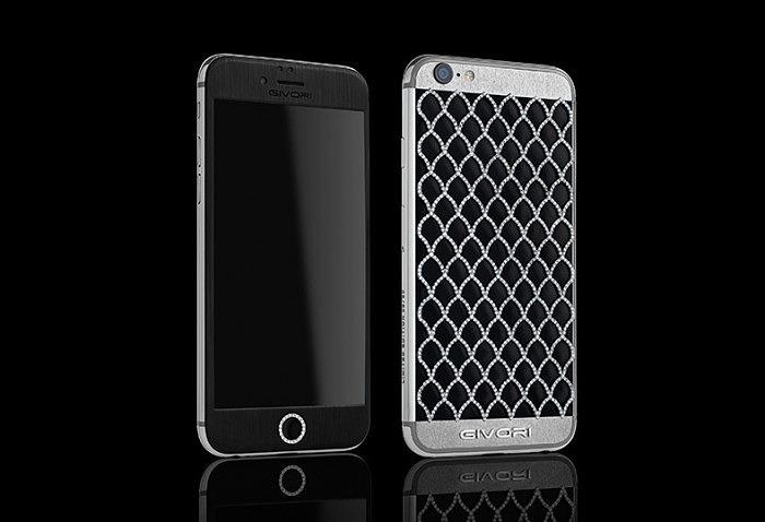 Calypso Diamond iPhone 6S с бриллиантами от Givory