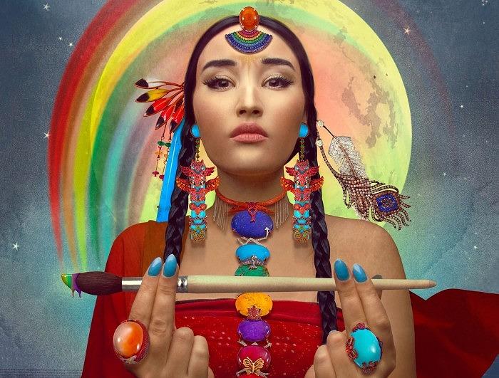 Украшения Rainbow Warrior Prophecy от Lydia Courteille