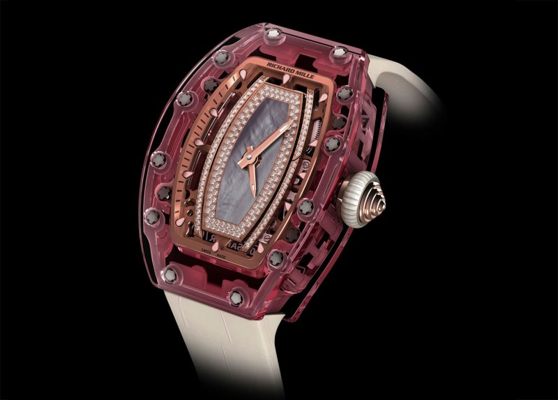 Часы Pink Lady Sapphire от Richard Mille