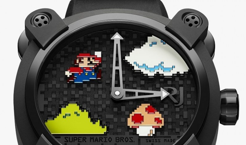 Часы Super Mario Bros. от Romain Jerome