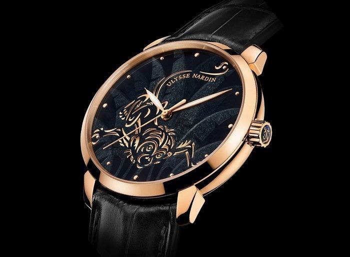 Часы Ulysse Nardin из коллекции «Символы года», посвященные году Обезьяны