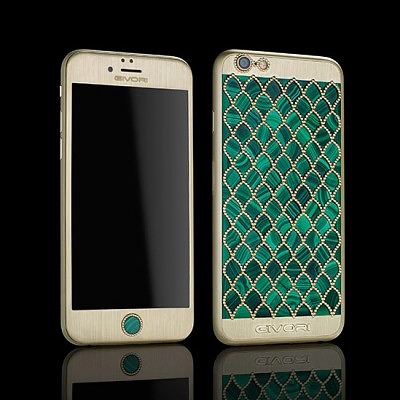 Calypso Malachite iPhone 6S с малахитом от Givory