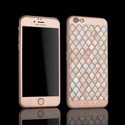 Calypso Mother of Pearl iPhone 6S с перламутром от Givory