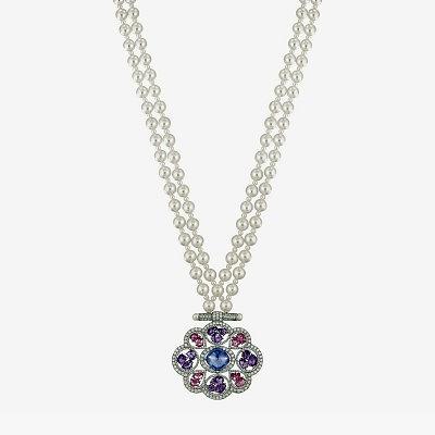 Колье Chanel с танзанитами, бриллиантами, сапфирами и жемчугом из коллекции Les Talisman