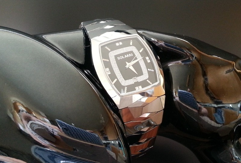 Часы Solarri из карбида вольфрама