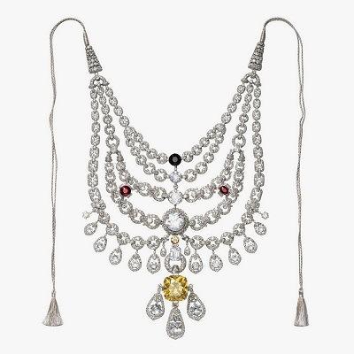 Колье махараджи Патиала, созданное Cartier, долгое время считавшееся утерянным