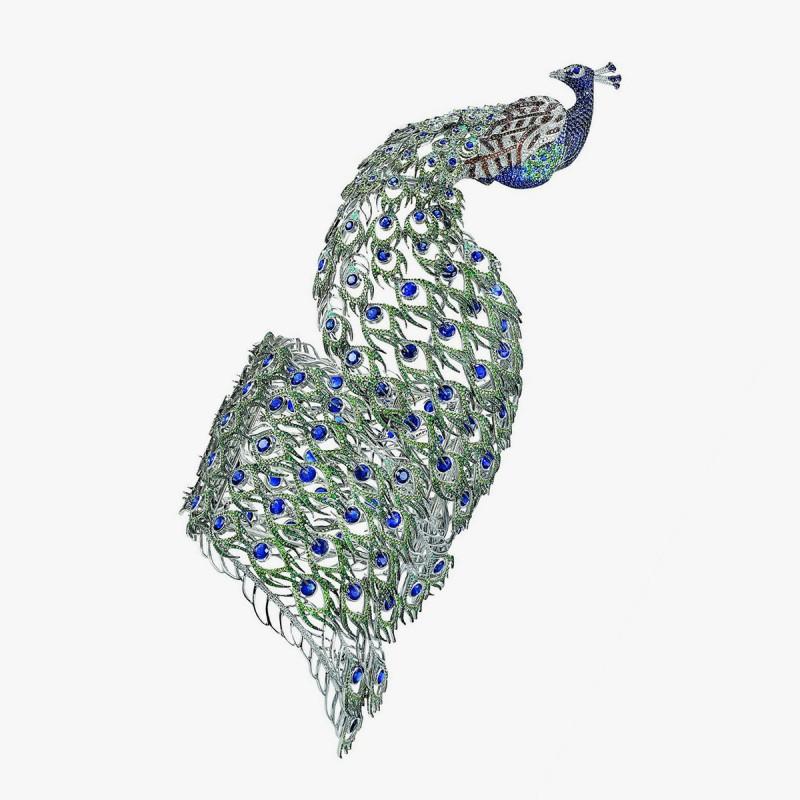 Браслет-павлин от Chopard — Animal World