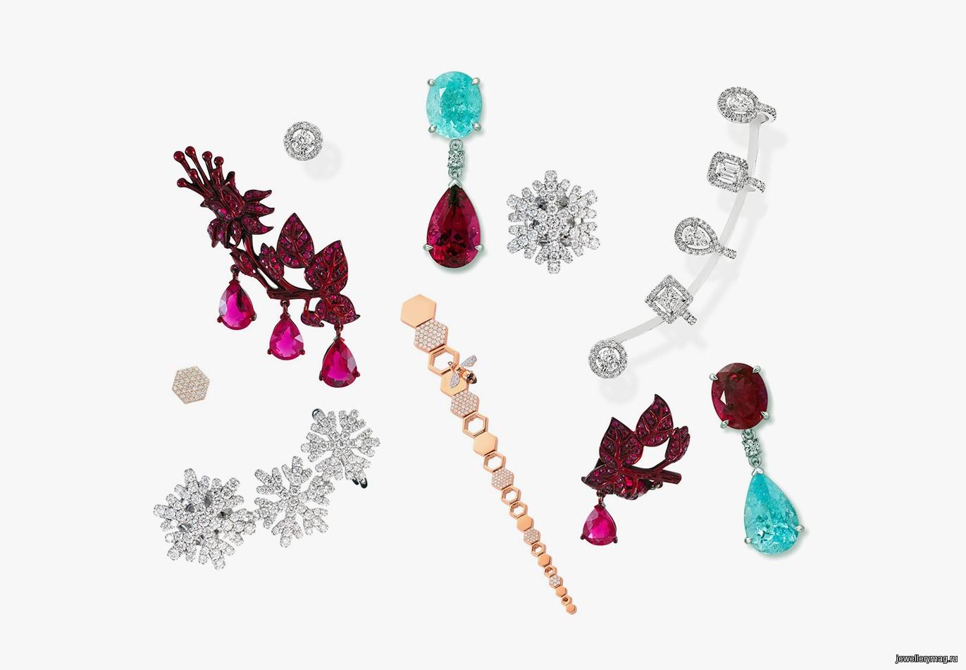 Несимметричные и непарные серьги — <b>Jewellery</b> Mag