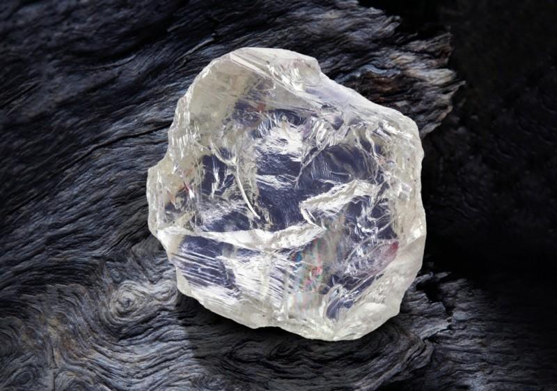 Алмаз весом 187,7 карата, добытый Rio Tinto