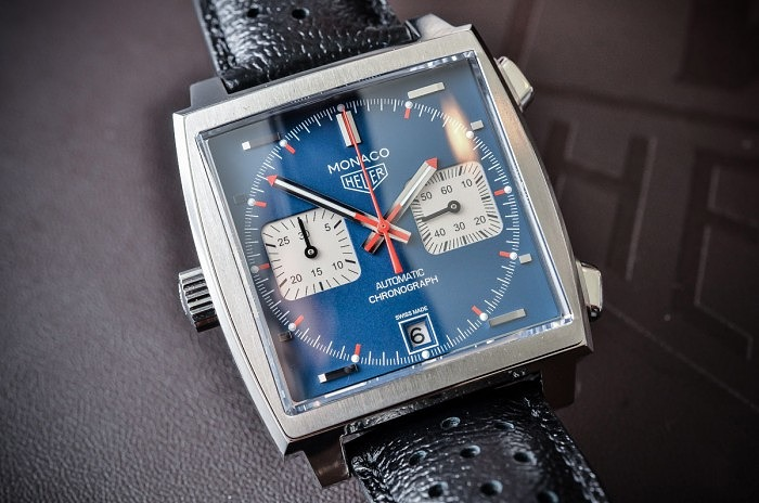 Часы Monaco Calibre 11 Edition Steve McQueen от Tag Heuer
