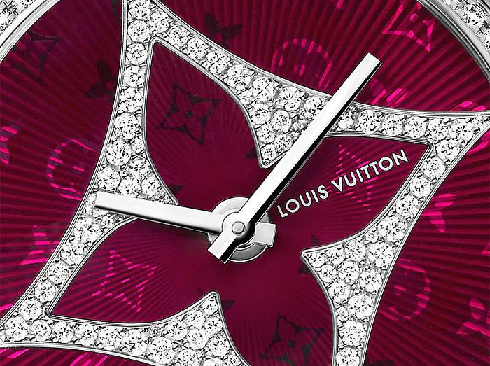 Часы Tambour Monogram Star от Louis Vuitton
