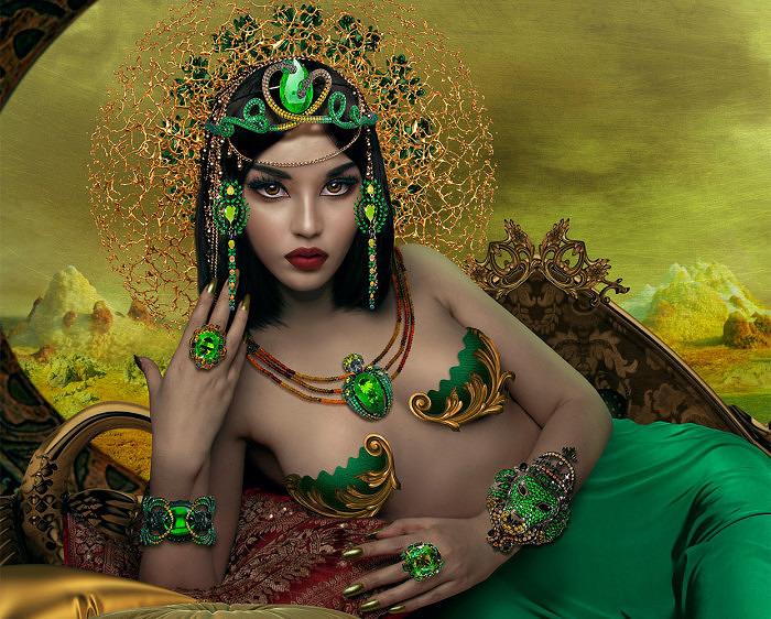 Коллекция Queen of Sheba от Лидии Куртель