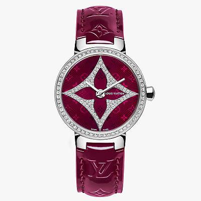 Часы Tambour Monogram Star в корпусе диаметром 28 мм