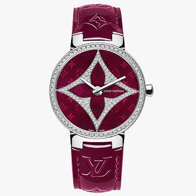 Часы Tambour Monogram Star в корпусе диаметром 33 мм