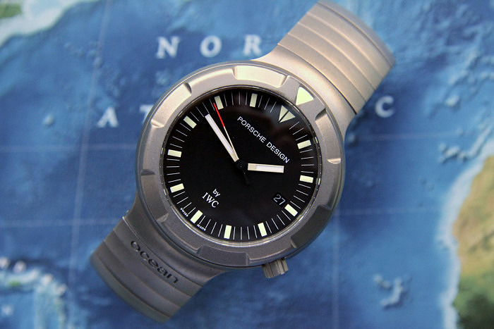 Титановые часы от Porsche Design и IWC (Ocean 2000)